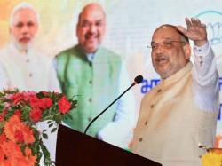 Amit Shah Kicks Off Telangana Campaign With Attack On K Chandrashekar Rao And Trs