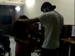 Delhi Cop S Son Thrashes Girl Video Goes Viral