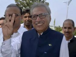 Pakistan New President Arif Alvi Is Son Jawaharlal Nehru S Dentist Habib Ur Rehman