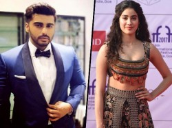 Arjun Kapoor Janhvi Kapoor Come Together On Camera The First Time