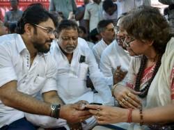 Bjp Minister Babul Supriyo Gives Message Return Jhal Muri Politics