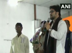 Union Minister Babul Supriyo Allegedly Thteatened Viewer A Programme At Asansol