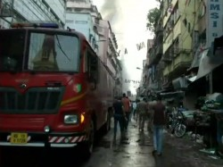 What Is The Traffic Situation After Bagri Market Fire At Kolkata
