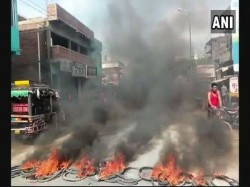Section 144 Imposed Mp Bjp Flags Burnt Bihar As Upper Caste Members Protest Over Sc St Act