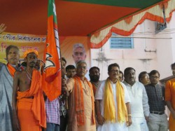 Several Tmc Cpm Worker Burdhaman Joined Bjp Front Dilip Ghosh