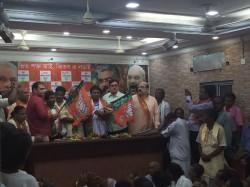 Three Hundred Matua Members Join Bjp Leaving Tmc Before Loksabha Election
