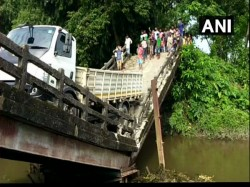 Another Bridge Collapse At Phansideoya Near Siliguri