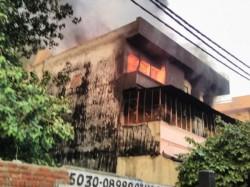 Fire Breaks In Factory Delhi S Udyog Nagar Area