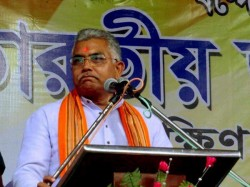 Dilip Ghosh Attacks That Tmc Minister Jyotipriyo Mallick S Has Bomb Factory