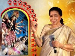 Asha Bhosle Sing Durga Pujo Song Naktala Udayan Sangha Kolkata