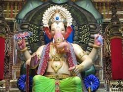 First Look Lalbaugcha Raja Mumbai Ganesh Chaturthi Celebrat