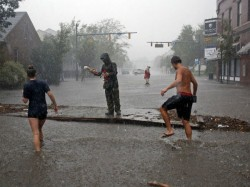 Hurricane Florence Weakened Creates Depression North Carolina Killed