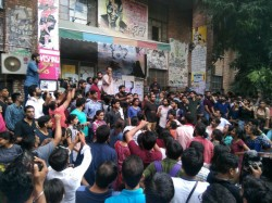 Left Unity Widens Lead Over Abvp Jnusu Election Results