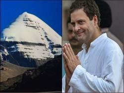 Rahul Gandhi Shared Pictures From His Kailash Mansarovar Yatra