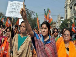 Bjp Leader Locket Chatterjee Criticizes Tmc Congress Cpm
