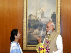Greetings Exchange Between Mamata Banerjee Narendra Modi Through Video Conference