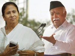 Rss Chief Mohan Bhagwat Invites Bengal Cm Mamata Banerjee At Delhi