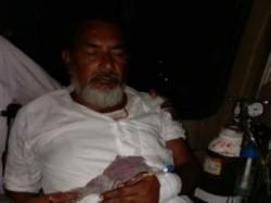Miscreants Targets Tmc Leader Nandigram Admitted The Private Hospital Kolkata
