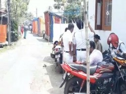 Tmc Clash Over Football Playing At Shahid Smriti Colony Under Panchasayar Police Station