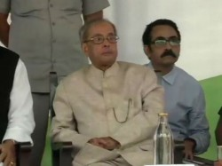 Pranab Mukherjee At Haryana Event Denies Collaboration With Rss