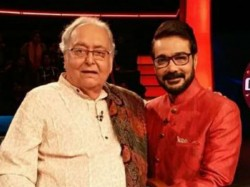 Actors Soumitra Chatterjee Prosenjit Chatterjee Mentor New Talents