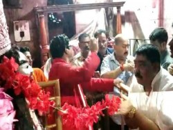 Anubrata Mondal Worshipped At Tarapith On Kaushiki Amabasya