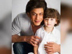 Shahrukh Khan Reveals Abram S Cute Name Ganpati Bappa Shares An Adorable Click