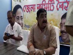 Controversial Instruction Birbhum Tmc Chief Anubrata Mondal At Bolpur Party Office