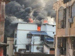 Fire At Bhawanipore Multi Storied Building