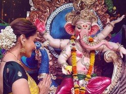 From Shilpa Madhuri Bollywood Stars Celebrates Ganesh Chaturthi