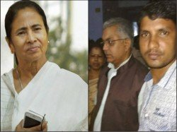A Bjp Worker Is Arrested Post Unseemly Picture Mamata Banerjee