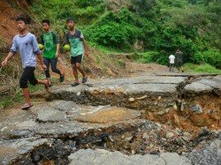 Flood Landslide Devastated Nagaland Demands Rs 800 Crore Aid
