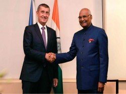 President Ram Nath Kovind Was Pleasant Go Czech Republic
