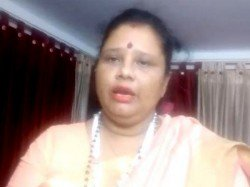 Bjp Leader Sangita Chakraborty S Comments On Threat Anubrata Mondal At Bolpur Party Office