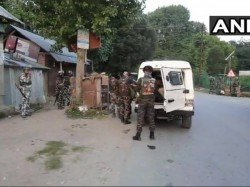 Two Militants Killed An Encounter With Security Forces Jammu Kashmir S Sopore