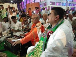 Minister Subhendu Adhikari Took Part Janmashtami Celebration At Iskcon Haldia