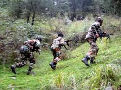 Four Terrorist Killed Encounter Baramulla Operation Underway