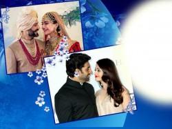 Sonam Kapoor Abhishek Bachchan Bollywood Starts Wishes Happy Karwa Chauth