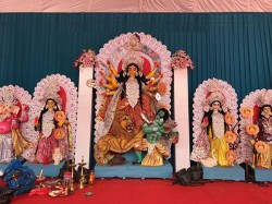 Durga Puja Bangalore 2018 Here Is The Preparation Bengali Association Hsr Layaout S Pujo