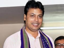 Tripura Cm Biplab Deb Did 45 Push Ups One Go A Conclave Kolkata