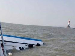 Boat Capsizes With Chief Secretary Maharastra Off Mumbai Coast