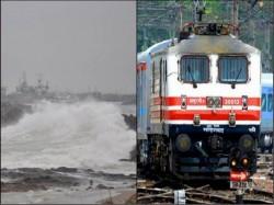 Rail Decides Cancel Several Train Service Due Cyclone Titly