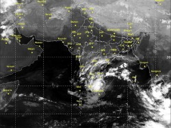 Deep Depression Over Bay Bengal Intensifies Into Cyclonic Storm Titli