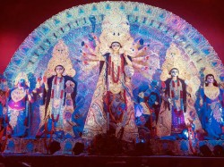 Delhi Celebrates Durga Puja Here Are Few Pictures