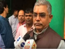 Bjp Leader Dilip Ghosh Criticises Tmc Over The Explosion Dumdum Nagerbazar