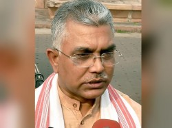 Bjp State President Dilip Ghosh Says Tmc Now Suffering Bjp Fovea