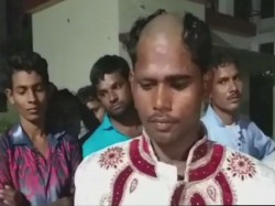 Groom S Head Tonsured Bride S Family Lucknow