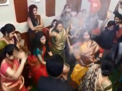 Dhunuchi Dance On Navami Nights On Durga Puja Women Overshadowed Mens
