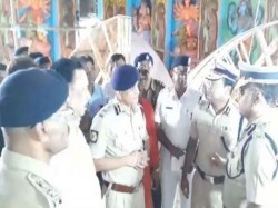 Cp Rajib Kumar Visited Different Pandals Kolkata Precaution Measure Puja Days