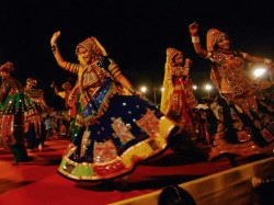 Garba With Sword Dance Performance Rajputs Captured Video